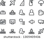bold stroke vector icon set  ...