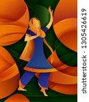 vector design of woman... | Shutterstock .eps vector #1305426619