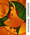 vector design of woman... | Shutterstock .eps vector #1305426640