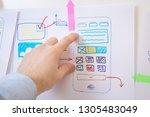 app design smartphone. ui ux...