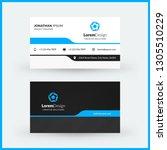 double sided horizontal... | Shutterstock .eps vector #1305510229