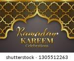 ramadan kareem or eid mubarak... | Shutterstock .eps vector #1305512263