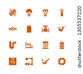 Supply Icon Set. Collection Of...