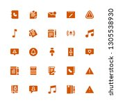 notice icon set. collection of...