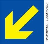 arrow icon sign