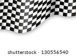 checkered flag   Shutterstock . vector #130556540