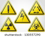 warning sign | Shutterstock . vector #130557290