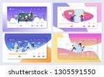 business planning management... | Shutterstock .eps vector #1305591550