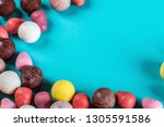 chewing gum  candies of... | Shutterstock . vector #1305591586