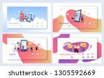 online recruitment support... | Shutterstock .eps vector #1305592669