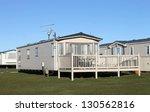 modern static caravans in park... | Shutterstock . vector #130562816