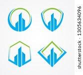 best creative realty... | Shutterstock .eps vector #1305634096