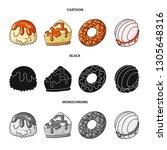 vector design of confectionery... | Shutterstock .eps vector #1305648316
