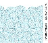 vector seamless pattern.... | Shutterstock .eps vector #1305648376