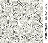 vector seamless pattern.... | Shutterstock .eps vector #1305648379
