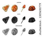 vector design of confectionery... | Shutterstock .eps vector #1305650779