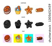 vector illustration of... | Shutterstock .eps vector #1305652459