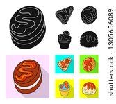 vector illustration of... | Shutterstock .eps vector #1305656089