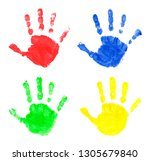 set of multi colored prints of...   Shutterstock . vector #1305679840