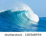 blue ocean wave | Shutterstock . vector #130568954