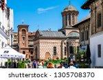 bucharest  romania   june 05 ... | Shutterstock . vector #1305708370