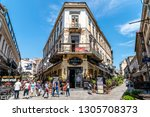 bucharest  romania   june 05 ... | Shutterstock . vector #1305708373