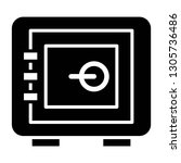 safety deposit box icon design...