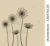 decoration with  stylized...   Shutterstock .eps vector #130576133