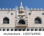 venice  italy   may 28  doge s...   Shutterstock . vector #1305763900