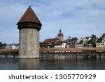 lucerne  switzerland   june 24  ...   Shutterstock . vector #1305770929