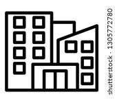 office building icon design...