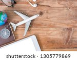 outfit and accessories of...   Shutterstock . vector #1305779869
