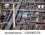 oil refinery from the air | Shutterstock . vector #130580729