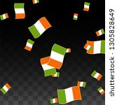 vector irish national... | Shutterstock .eps vector #1305828649