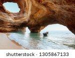 Benagil Cave  Algarve  Portugal....