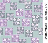 seamless pattern made up of...   Shutterstock .eps vector #1305869479