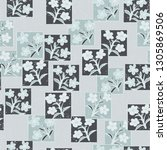 seamless pattern made up of...   Shutterstock .eps vector #1305869506