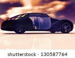 generic and futuristic  model... | Shutterstock . vector #130587764