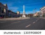 lisbon portugal. 04 february... | Shutterstock . vector #1305908809