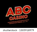 luxury casino logotype. vector...