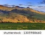 pieniny mountains at evening  ...   Shutterstock . vector #1305988660