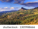 pieniny mountains at evening  ...   Shutterstock . vector #1305988666
