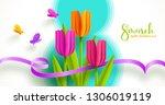 8 march international women's...   Shutterstock .eps vector #1306019119