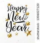 happy new year background 2020...   Shutterstock .eps vector #1306027120