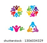 adoption and community care... | Shutterstock .eps vector #1306034329