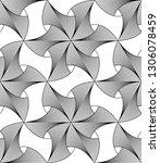 vector seamless texture. modern ... | Shutterstock .eps vector #1306078459