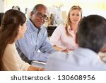 team meeting in creative office | Shutterstock . vector #130608956