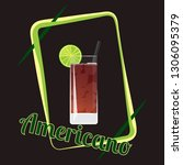 official cocktail icon  the... | Shutterstock .eps vector #1306095379