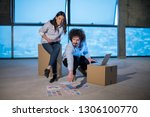 young team of business people... | Shutterstock . vector #1306100770