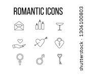 valentines day  romantic love... | Shutterstock .eps vector #1306100803